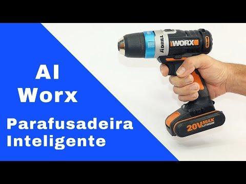 Parafusadeira AI Worx - Controle de torque automático - Review
