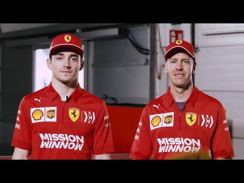 Sebastian Vettel and Charles Leclerc | Mr & Mrs Challenge