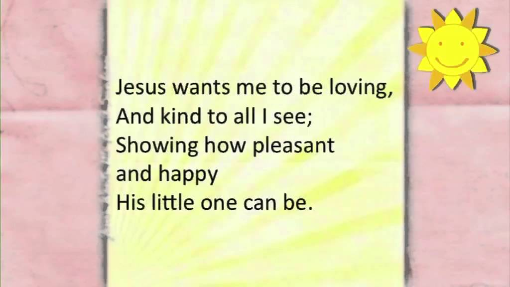 Jesus Wants Me For a Sunbeam ~ Golden Books ~ lyric video - YouTube