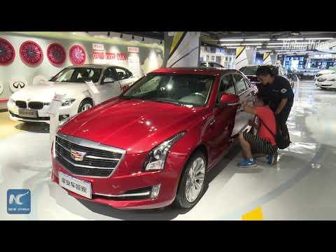 Car supermarket! China's O2O giant eyes auto sales