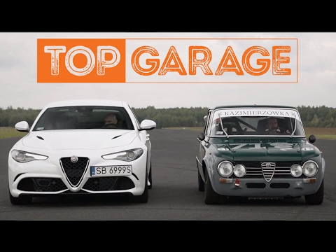 Alfa romeo giulia q vs alfa romeo giulia super 1300 top garage youtube - Garage alfa romeo orleans ...