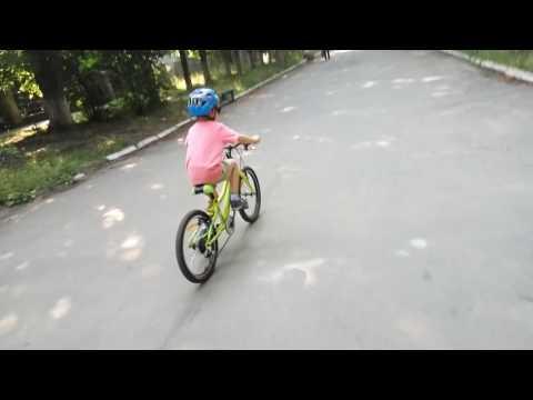 Первая совместная вело-покатушка
