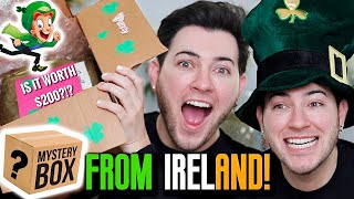 I PAID a FAN $200 TO MAKE ME A MAKEUP MYSTERY BOX... Ireland Edition!