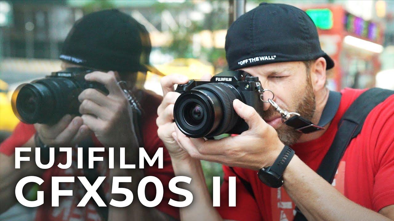FUJIFILM GFX50S II & Fujinon GF 35-70mm f/4.5-5.6 WR Lens | Hands-on Review