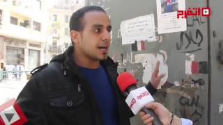 شاب من حملة الماجيستير حاول حرق نفسه: الخطوة الجاية انتحار جماعي (اتفرج)