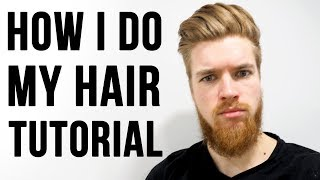Men Hairstyle Tutorial – by ESO