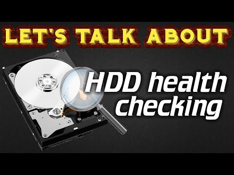 How to check HDD health/bad sectors before using it (Ironwolf 10TB)