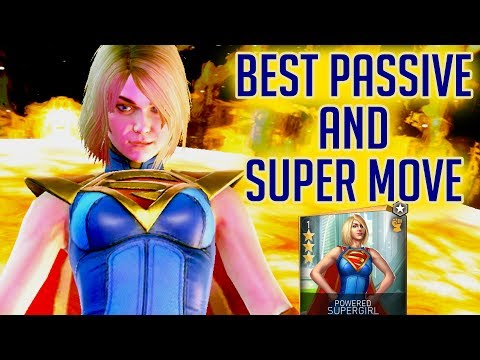Repeat Unlocking Powered SuperGirl in Injustice 2 Mobile