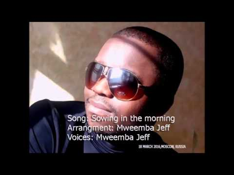 Sowing in the morning - Mweemba Jeff
