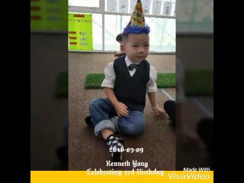 Kenneth Yong is celebrating 3rd Birthday @ Montessori Kids Academy
