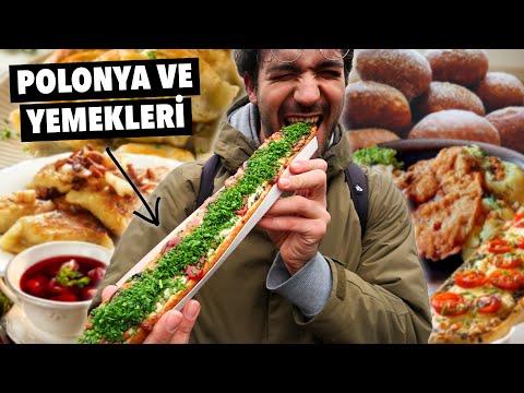 POLONYA'da Türklerin 100% Seveceği Sokak Yemekleri!! - Krakow