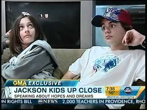 Paris Prince and Blanket Jackson FULL INTERVIEW GMA Feb 2011