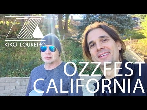 A day at OZZFEST with MEGADETH - California