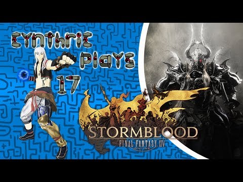 Cynthric Plays Final Fantasy XIV: Stormblood (With Spicy Peanut) Part 17: Sad Turtle Stories!