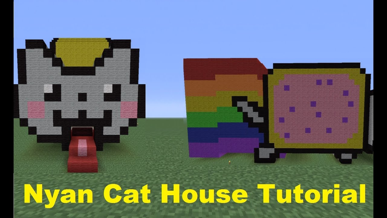 Minecraft 360 How To Build A Nyan Cat House Funnycat Tv