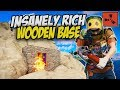 Raiding Insanely Rich Wooden Base! - Rust Solo Survival Gameplay