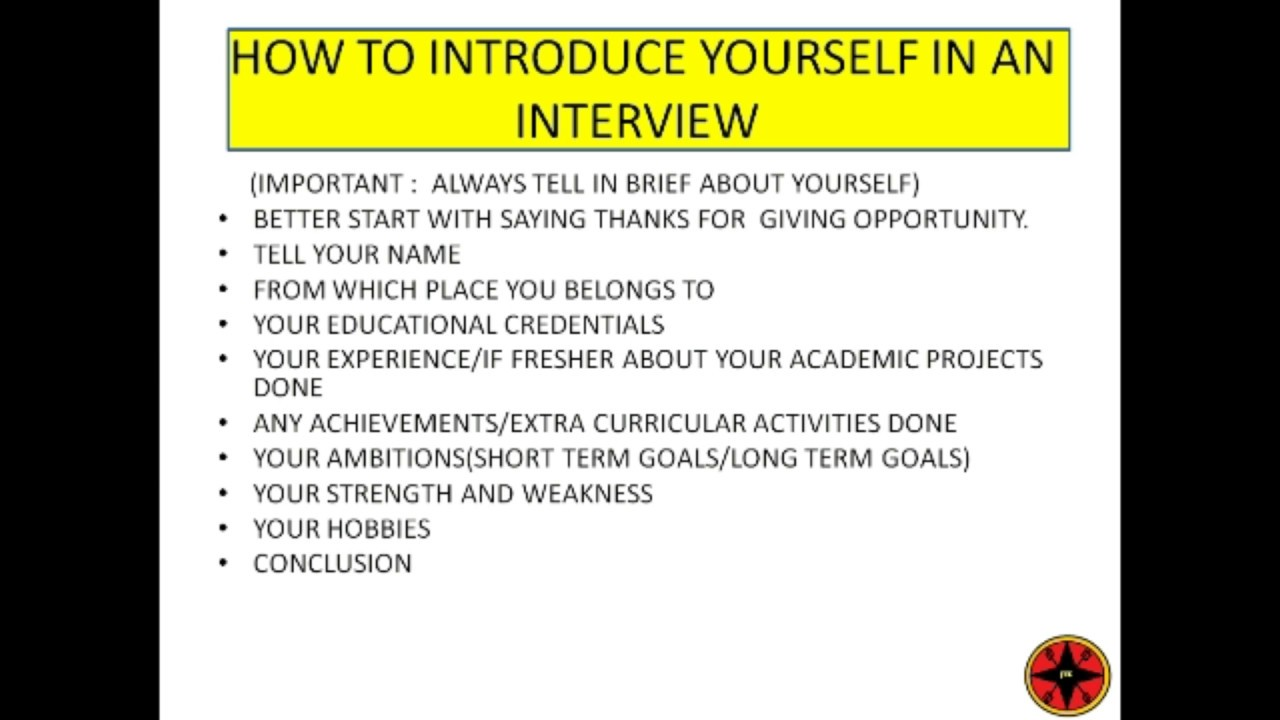 Best Self Introduction For Interview In Malayalam  Self