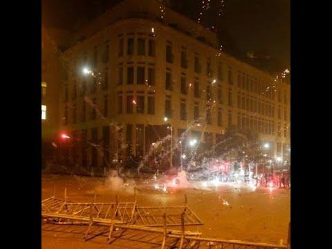 هدوء في العاصمة اللبنانية بعد اشتباكات عنيفة بين المتظاهرين وقوى الأمن  - 00:00-2020 / 1 / 19