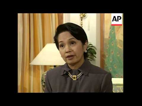 Interview with Philippine President Arroyo