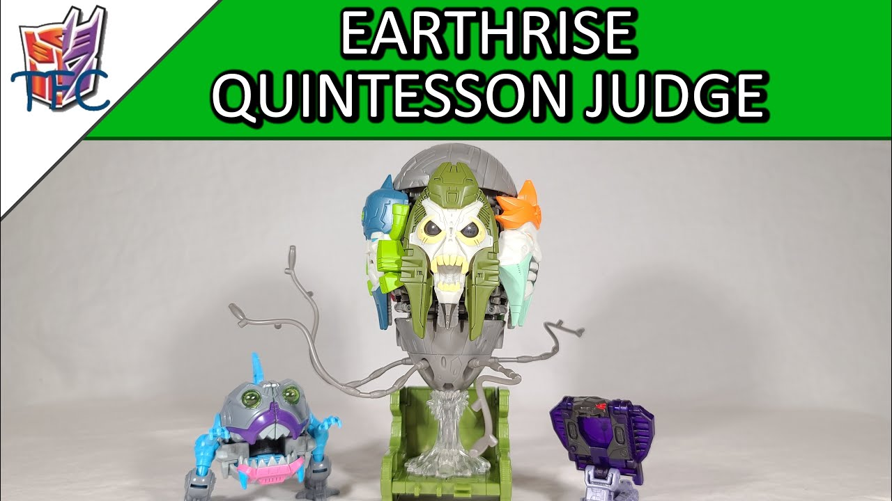 TF Collector Earthrise Quintesson Judge Review!