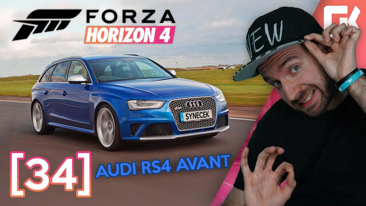 AUDI RS4 AVANT   Forza Horizon 4 #34