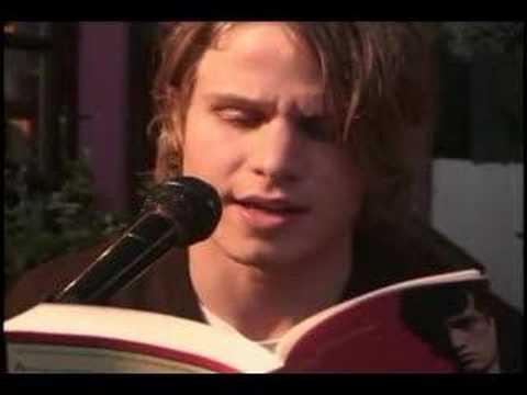 'Mysterious Skin' book reading by Brady Corbet