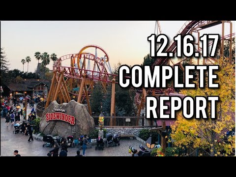 The week we went to Knotts Berry Farm  12162017