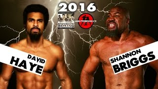 david haye vs shannon briggs thoughts prediction