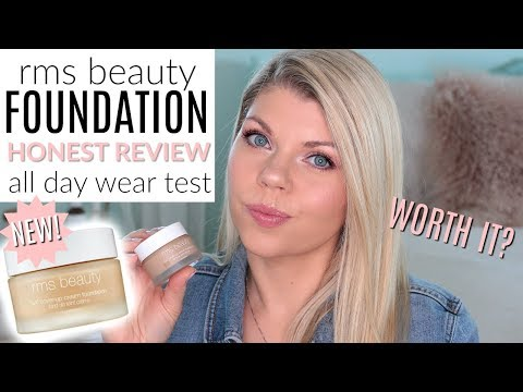 NEW RMS BEAUTY UNCOVER UP CREAM FOUNDATION REVIEW, SWATCHES, WEAR TEST