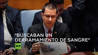 Intervención del canciller venezolano ante la ONU durante reunión urgente del Consejo de Seguridad