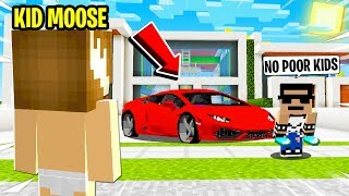 I SNUCK in the RICH KIDS House and EXPOSED the DAYCARE Minecraft Server!