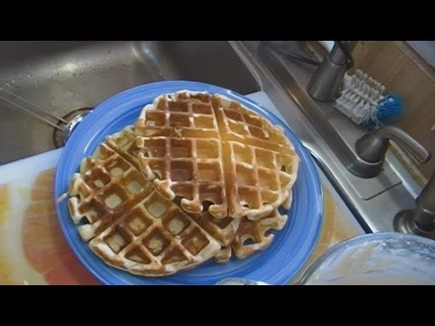 malted-buttermilk-waffles!-great-for-sunday-breakfast!-noreen's-kitchen
