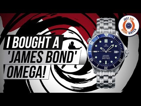 I Bought A 'James Bond' Omega + Multiple Watch Giveaways!