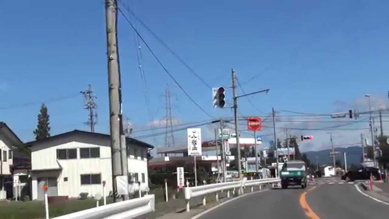 drive japan]安曇広域農道 安曇...