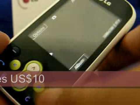 LG KS360 Triband Unlocked Phone