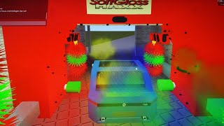 Roblox Shell Carwash (lots of colors on trifoam!)