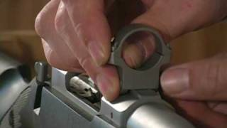 Ruger M77 Scope Mounting - YouTube