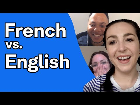 French words vs. English speakers - Quarantine Edition