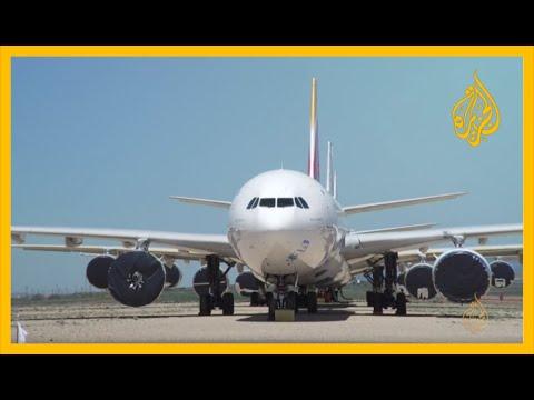 خسائر فادحة لشركات الطيران جراء كورونا  - نشر قبل 2 ساعة