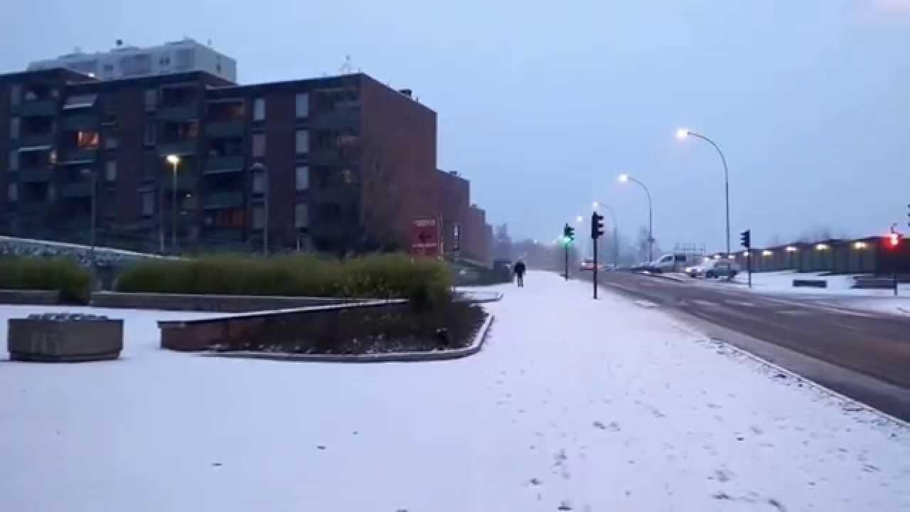 November Snow, Oslo 2015 - YouTube