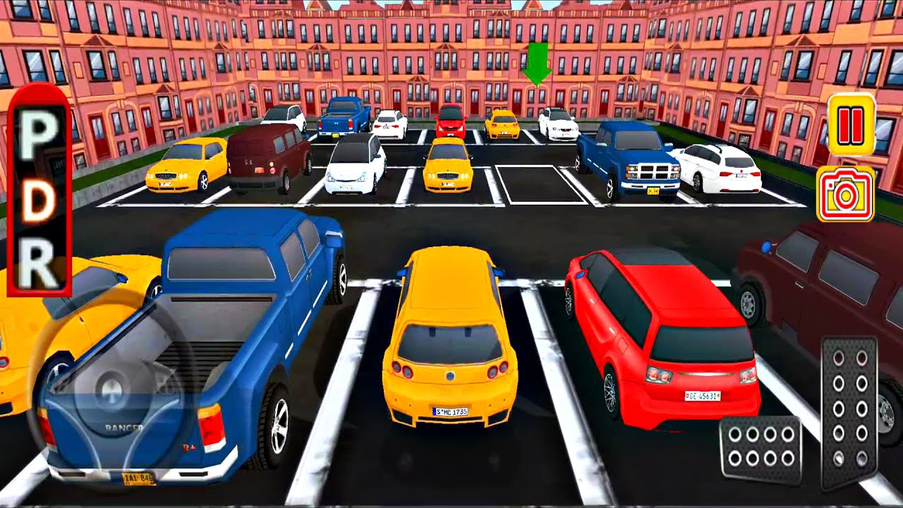 Driving Simulators - Reverse Car Parking Simulator - Car Simulators Game - Android ios Gameplay