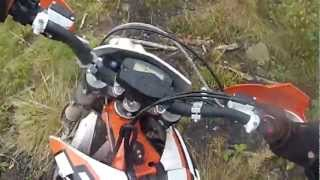 ktm freeride rocks and roots