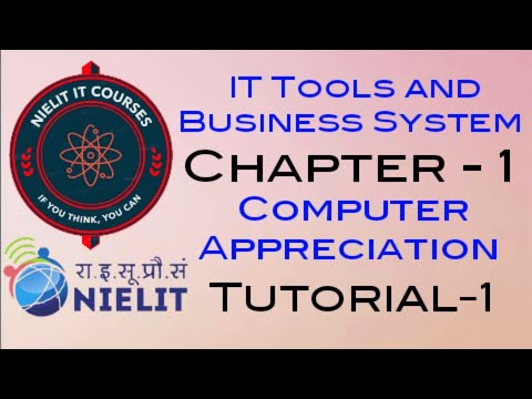 IT Tools and Business System Chapter-1 Computer Appreciation Tutorial-1 thumbnail