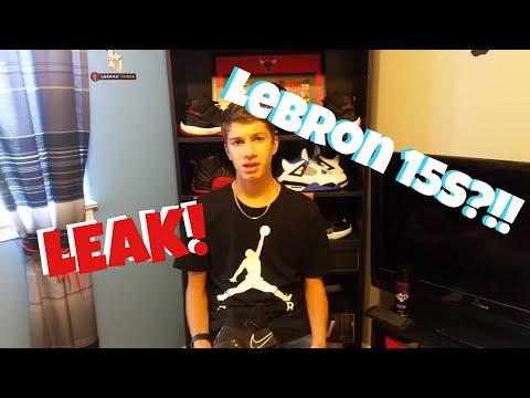 Nike Lebron 15 FULL LEAK!