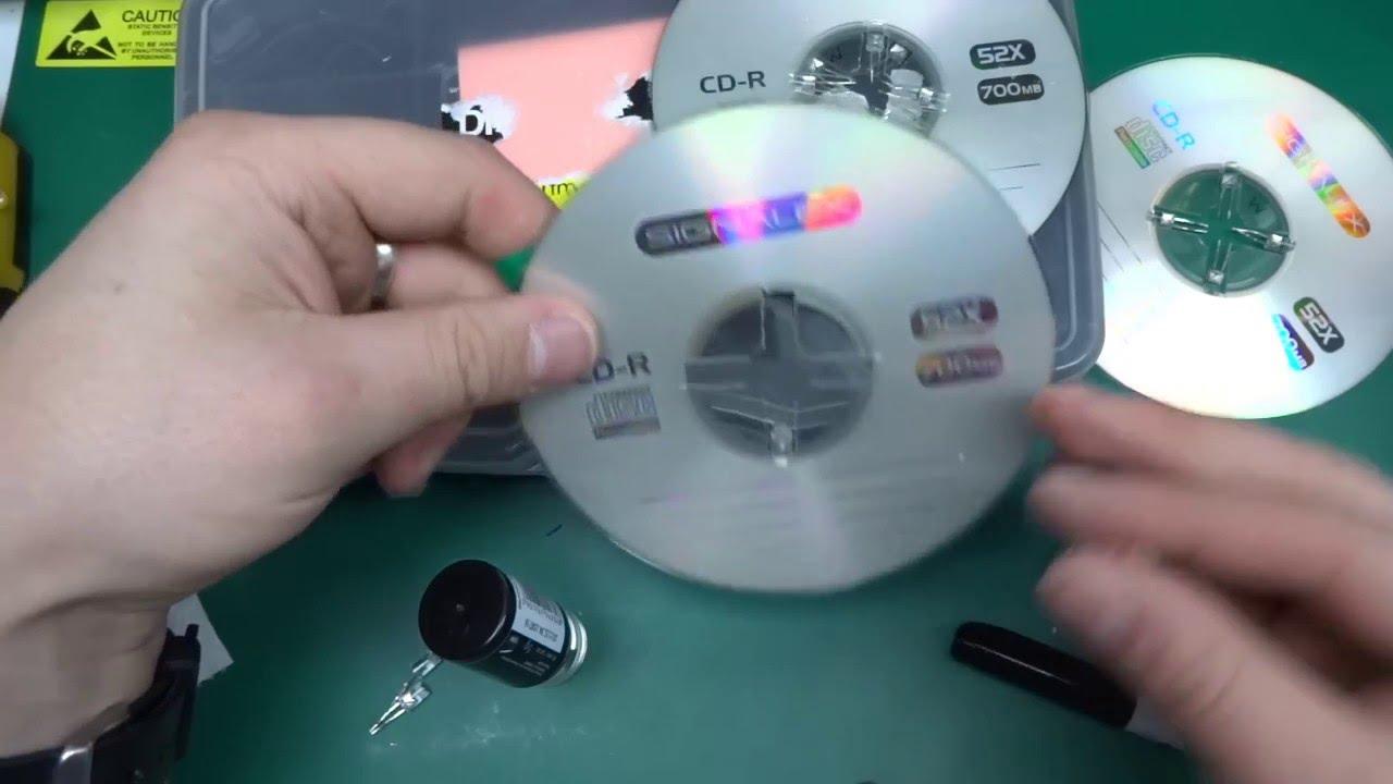 DIY Hacked CD LED Mood Lamp / Night Light   Full Build   Part 1   YouTube