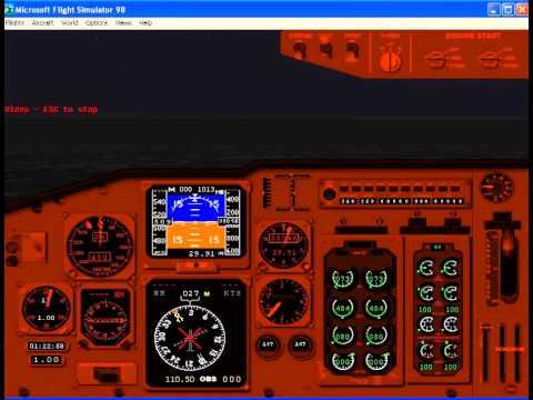Lost Malaysian MH370 Boeing 777 Kuala Lumpur Beijing flight simulation