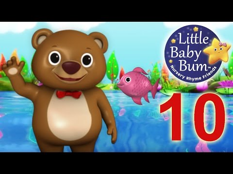 12345 Once I Caught A Fish A!  Nursery Rhymes   LittleBaBum!