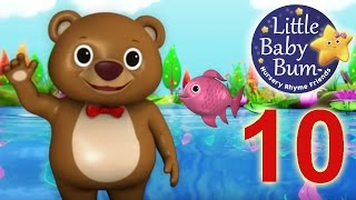 12345 Once I Caught A Fish Alive! | Nursery Rhymes | HD Version from LittleBabyBum