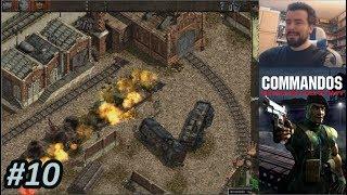 COMMANDOS: BEYOND THE CALL OF DUTY (PC) - Episodio 10 || Gameplay en Español