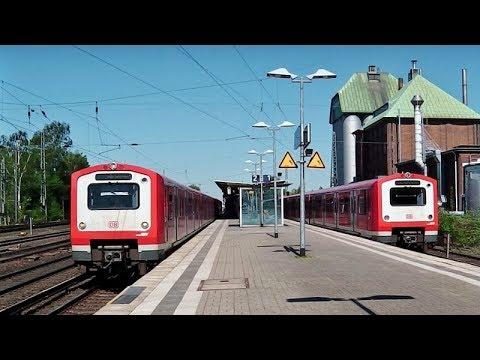 Eidelstedt [Hamburg] mit AKN, IC3 (Gumminase), ICEs, NOB, nordbahn, Hamburger S-Bahn, Regios, ICs
